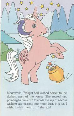 My Little Pony - Lickety Split and the Wood Sprites World International Publishing - 1986