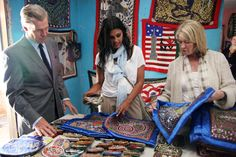 Terry Lundgren - CEO/President of Macy's, Martha Stewart and Rachel Roy visit Haiti to seek out artisans to bring their crafts back to the U.S. while helping the Haitian earthquake recovery efforts.