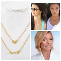 Gold celebrity horizontal sideway bar pendant necklace petite dainty gold celebrity horizontal sideway bar pendant necklace petite dainty 16 luxury looks for less pinterest aloadofball Image collections