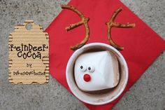 simple reindeer hot cocoa for the kids
