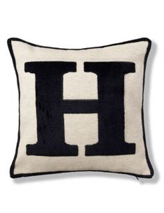 Letter H Cushion | M&S