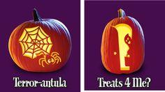 Pumpkin carving patterns!
