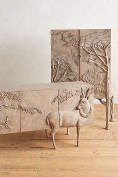 Land & Sky Bar Cabinet - anthropologie.com