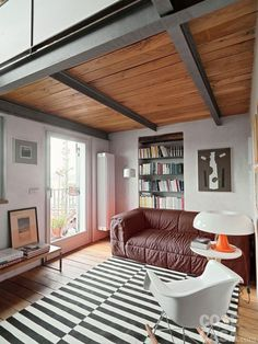 New ideas living room desgn modern dream homes mezzanine Attic Bedroom Designs, Plafond Design, Living Room Decor Colors, Ikea Kitchen Design, Casas Containers, Pump House, Sleeping Loft, Living Room With Fireplace, Modern House Plans