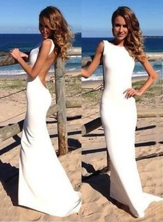 bridalup.com SUPPLIES Sexy Trumpet Mermaid Floor-Length Evening Dress Long  Evening Dresses 18977f697f69