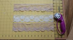 Make a Gorgeous Table Runner from Vintage Lace
