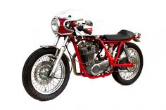 Cherry Cafe Racer by Deus Ex