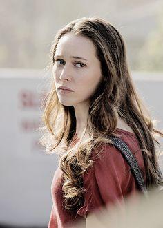 alycia debnam carey - Fear the Walking Dead - on set