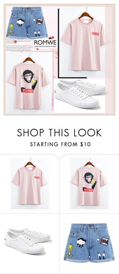 """""""ROMWE"""" by fashion-with-lela ❤ liked on Polyvore featuring Lacoste and Paul & Joe Sister"""