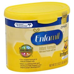 Selling a new case of Enfamil Infant infant formula (contains (6) 22 oz containers) that is tailored to meet the nutritional needs of babies aged 0 th... #case #contains #reserve #formula #baby #enfamil #infant