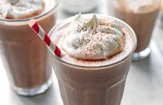 Whether you're hankering for something sweet, or have hungry kids to feed this easy Peanut Butter Chocolate Milkshake is the perfect dessert or snack.