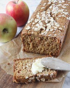 äppellimpa12 Bread Recipes, Keto Recipes, Apple Loaf, Food Swap, Swedish Recipes, Bread Baking, Banana Bread, Food And Drink, Sweets