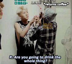 when Leo took Ravi's coffee (ღ˘⌣˘ღ) (2/4)