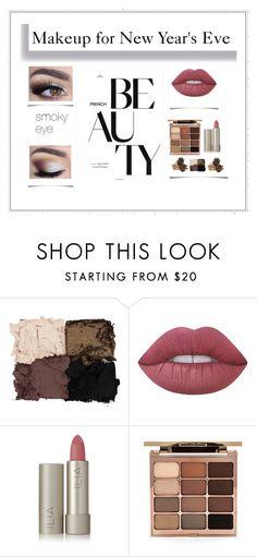 """Makeup for New Year's Eve"" by alondrafamilia on Polyvore featuring Belleza, Illamasqua, Lime Crime, Ilia y Stila"