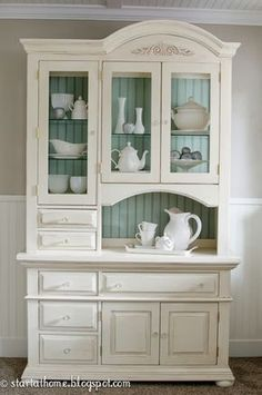 Start at Home: Beautiful Hutch !!