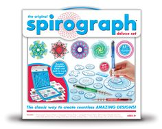 Spirograph...had this also in the early 80s- so simple, but so fun!