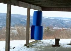 DIY Videos : How to build an Inexpensive Homemade Wind Turbine out of Old 55 gallon drums