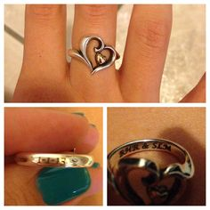 Engraved Joy of My Heart Ring from James Avery Jewelry | Instagram Viewer