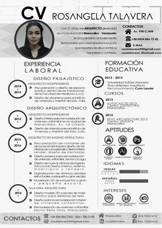 35 Best Architecture Cv Images Creative Resume Resume Design