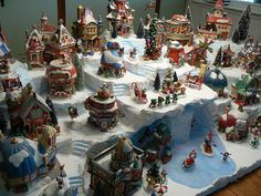 Susan's North Pole Display by 56th and Main, via Flickr