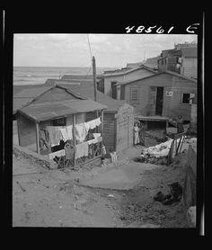 San Juan, Puerto Rico. La Perla, the slum area