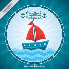 21911e7d216 Fondo de bonito barco Fundos Bonitos, Icono Gratis, Vectores Gratis, Design  Gráfico,
