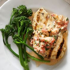 Soaked in a lemon marinade, this chicken dish has a delightful-yet-subtle citrus flavor that nicely complements both the chicken breast and sauteed crawfish topper: http://www.bhg.com/recipes/chicken/chicken-breast-recipes/chicken-breast-recipes/?socsrc=bhgpin041814grilledchickenwithcajuncrawfishcreamsauce&page=18