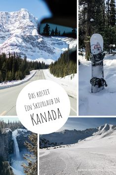 Flüge, Hotels, Skipass: Das kostet ein Skiurlaub in Kanada. Eine Kostenübersicht mit Beispielrechnung Banff, Rocky Mountains, British Columbia, Mount Everest, Hotels, Nature, Travel, Ski Resorts, Ski Trips