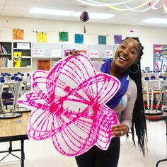 Hi, guys! Thanks for taking the time to read today! I wanted to share with you the activity I did with my students on S. Neon Painting, Painting For Kids, Art For Kids, Star Wars Font, Stem Projects, My Art Studio, Middle School Art, Art Lessons Elementary, Paint Designs