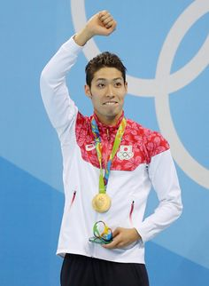 日本人金メダル第 1 号は競泳男子400メートル個人メドレーの萩野公介選手!!リオデジャネイロオリンピック・リオ五輪