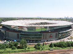 Emirates stadium, London, England - capacity 60,000