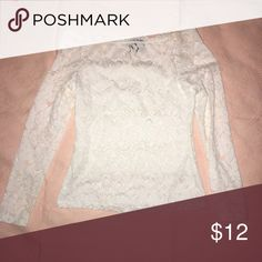 Lace Top White Lace off the shoulder top. WINDSOR Tops
