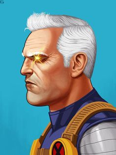 Mike Mitchell x Marvel x Mondo - Cable