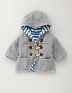 Baby boy jacket.-do double layered fleece for Aidan?