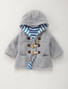 Baby boy jacket.-do double layered fleece for Aidan?