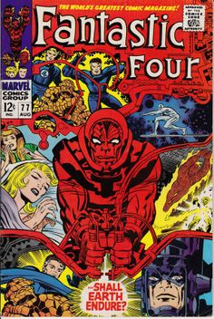 Fantastic Four 1961 1st Series 77 August 1968 Issue by ViewObscura, $30.00