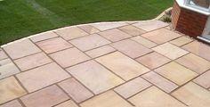 Turning Leaf Riven Flagstone - Sandstone