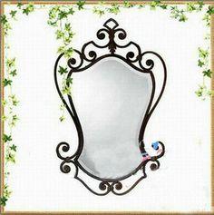 Iron Bathroom Mirrors