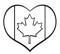 Free Canada Day Coloring Pages. Color in this picture of I Love Canada and others with our library of online coloring pages. Save them, send them; they're great for all ages. Heart Coloring Pages, Fall Coloring Pages, Coloring Sheets For Kids, Online Coloring Pages, Animal Coloring Pages, Adult Coloring, Canada For Kids, Canada Canada, Canada Online