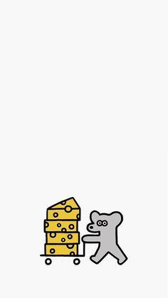 아이폰 일본 캐릭터 일러스트 배경화면 seijimatsumoto_1 : 네이버 블로그 Doodle Drawings, Doodle Art, Easy Drawings, Snoopy Wallpaper, Kawaii Wallpaper, Iphone Background Wallpaper, Love Wallpaper, Mouse Illustration, New Years Poster