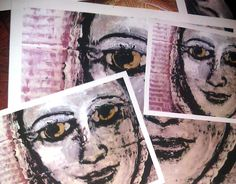 Portrait from paint on cardboard to print Second Life, Fine Art Paper, My Arts, Packing, Budget, Printed, Portrait, Canvas, Drawings