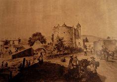 Iglesia de San Antonio Panzacola y El Puente del Altillo (Hoy Universidad y Francisco Sosa)   Flickr - Photo Sharing!
