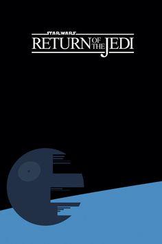 Gwiezdne Wojny Powrót Jedi - plakat premium