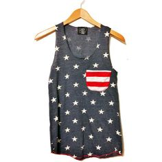 American Flag Tank Top //Pocket Tank// American Flag Clothing // Red... (165 VEF) ❤ liked on Polyvore featuring tops, shirts, tank tops, tanks, red white and blue tank top, red white blue tank top, usa flag tank top, pocket tank top and red shirt