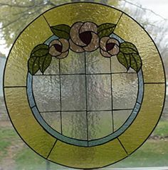Stained Glass Heirlooms: Round Rose Window
