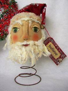 Santa Nooder, handmade USA, Kathy's Holiday, Ocean City NJ