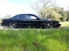 96 impala ss split 5 star asanti af173 wheels
