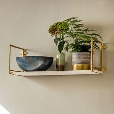 Graham and Green - Tala Gold Marble Shelf