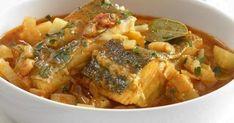 Μπακαλιάρος κοκκινιστός με πράσα και πατάτες - OlaSimera