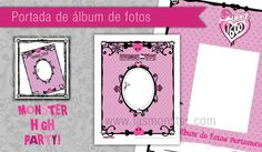 Portadas para álbum de fotos Monster High